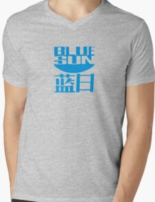 Firefly - Blue Sun Mens V-Neck T-Shirt