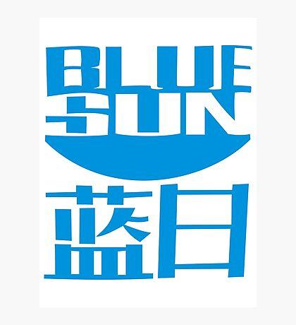 Firefly - Blue Sun Photographic Print