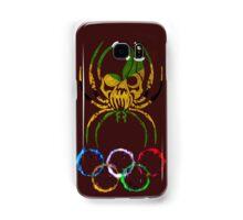 JAMAICA SPIDER SKULL FLAG RINGS Samsung Galaxy Case/Skin