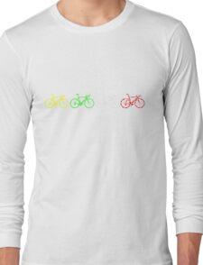 Bike Stripes Tour de France Jerseys v2 Long Sleeve T-Shirt