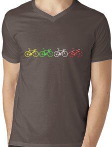 Bike Stripes Tour de France Jerseys v2 Mens V-Neck T-Shirt