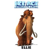 Ice Age Collision Course Ellie Photographic Print