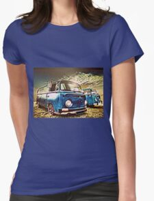 Stormy Weather Womens Fitted T-Shirt