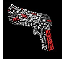 gun Photographic Print