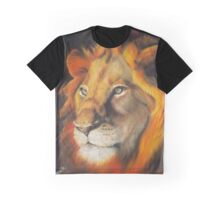 The King Ablaze Graphic T-Shirt