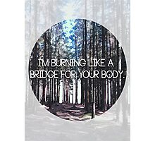 Brand New Lyric Photographic Print