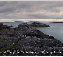 Eigg  and Muck by Alexander Mcrobbie-Munro