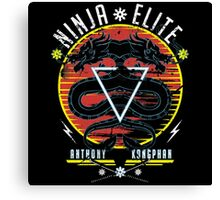 Ninja Elite Canvas Print