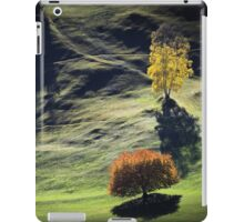 Majestic sunset in the mountains landscape iPad Case/Skin