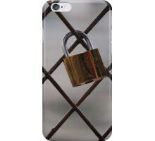 Paris Lock iPhone Case/Skin