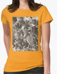 black&white clovers Womens Fitted T-Shirt