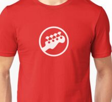 Rock Band Instrument Symbol - Bass Unisex T-Shirt