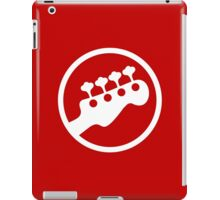 Rock Band Instrument Symbol - Bass iPad Case/Skin