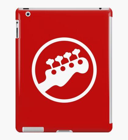Rock Band Instrument Symbol - Bass iPad Case/Skin