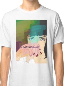 Mia Wallace, Pulp Fiction Classic T-Shirt