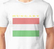 HUNGARY, STAR Unisex T-Shirt