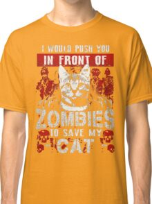 ZOMBIES CAT Classic T-Shirt
