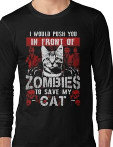 ZOMBIES CAT Long Sleeve T-Shirt