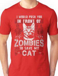 ZOMBIES CAT Unisex T-Shirt