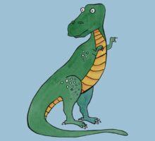 Tyrannosaurus One Piece - Short Sleeve