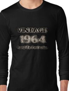 Vintage 1964 – Aged To Perfection Long Sleeve T-Shirt