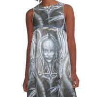 Cthulhutrix2 A-Line Dress