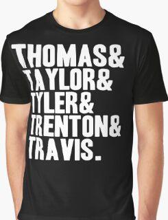 Thomas & Taylor & Tyler & Trenton & Travis. Graphic T-Shirt