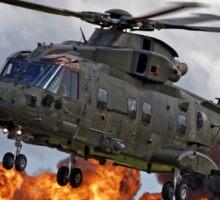 AgustaWestland Merlin HC3 Helicopter Sticker
