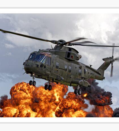 AgustaWestland Merlin HC.3 Helicopter Sticker