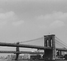 Bridge to Brooklyn  by AGODIPhoto