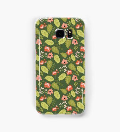Lush Garden Floral Pattern Samsung Galaxy Case/Skin