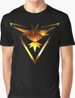 Team Instinct Pokemon Go Elements Graphic T-Shirt