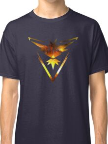 Team Instinct Pokemon Go Elements Classic T-Shirt