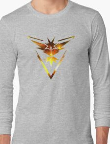 Team Instinct Pokemon Go Elements Long Sleeve T-Shirt