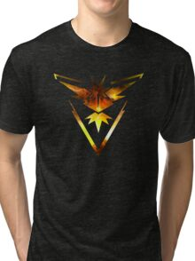 Team Instinct Pokemon Go Elements Tri-blend T-Shirt