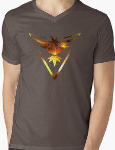 Team Instinct Pokemon Go Elements Mens V-Neck T-Shirt