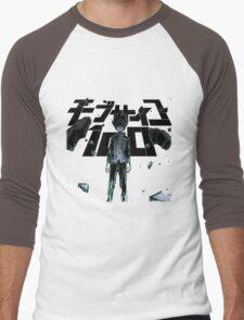 mb100-2 Men's Baseball ¾ T-Shirt