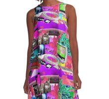 Apocalypse Cat A-Line Dress