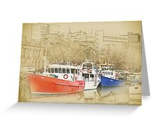 Hobart Harbour Greeting Card