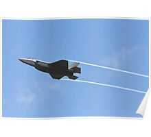 f35 jet fighter Poster