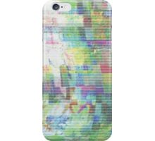 Glitch art 6/6 iPhone Case/Skin