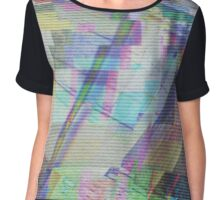 Glitch art 1/6 Chiffon Top