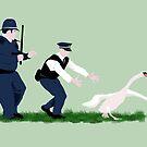 Swan cops by SixPixeldesign