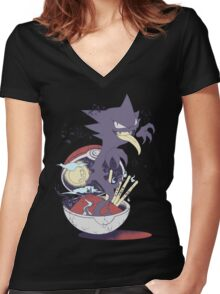 sweet suite Women's Fitted V-Neck T-Shirt