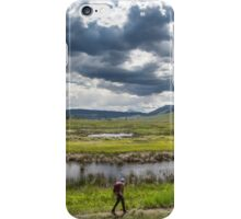 hiker iPhone Case/Skin
