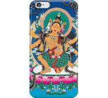 Yoga Mandala Henna Ornate Ohm Tan iPhone Case/Skin