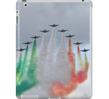Italian aircraft display team iPad Case/Skin