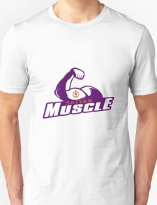 Saiyan Muscle - Purple Unisex T-Shirt
