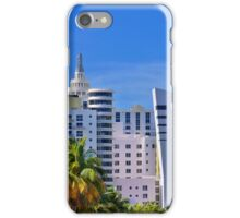 Miami Beach Art Deco Hotels iPhone Case/Skin
