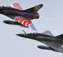 two jets Sticker